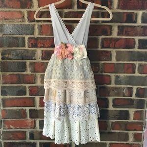 Romantic Lace Slip Dress